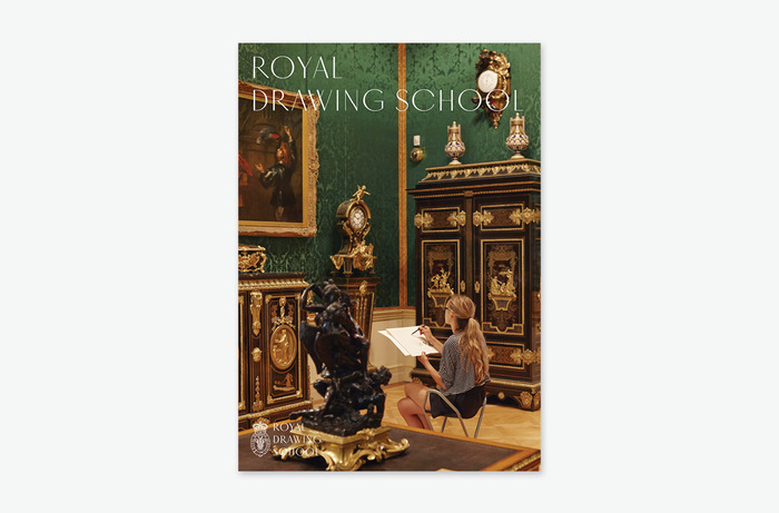 Royal Drawing School identity 4