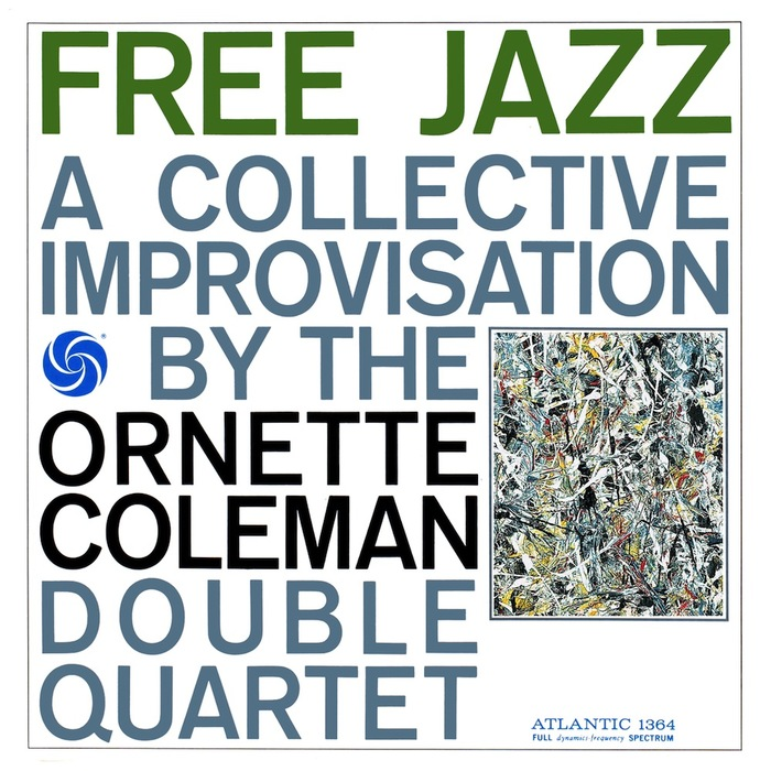 Ornette Coleman Double Quartet – Free Jazz album art 1