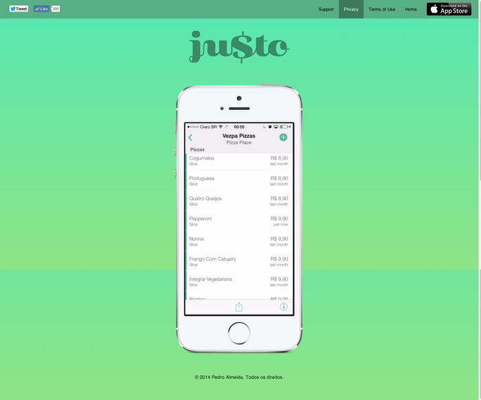 Ju$to App Logotype 2