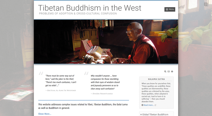 Tibetan Buddhism in the West 1