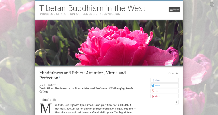 Tibetan Buddhism in the West 2