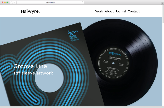Haiwyre studio website 1