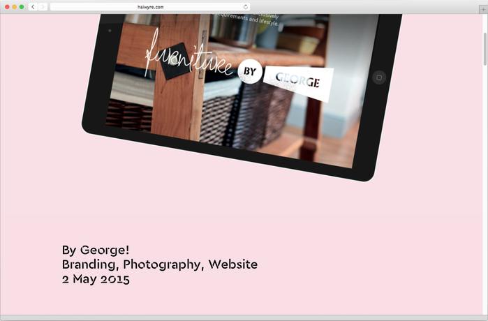 Haiwyre studio website 6
