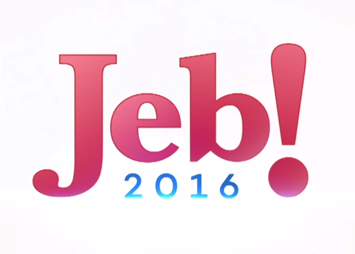 The logo as introduced from Jeb Bush's Twitter account.