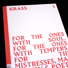 <cite>Krass Journal</cite> issue 1