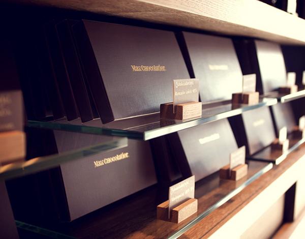 Max Chocolatier branding 7
