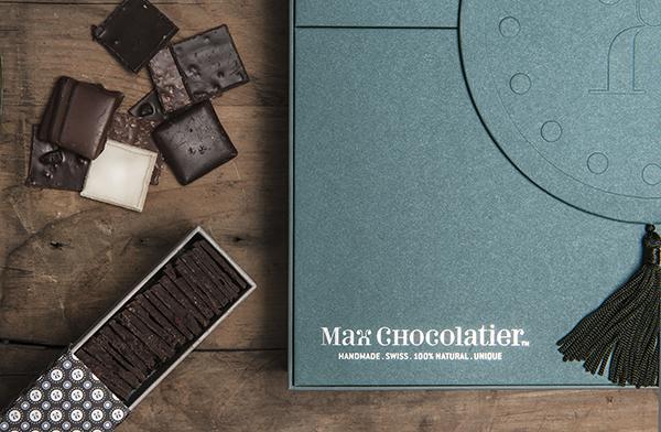 Max Chocolatier branding 8