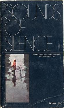 <cite>Sounds of Silence</cite> book cover