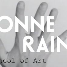 Yvonne Rainer lecture announcement