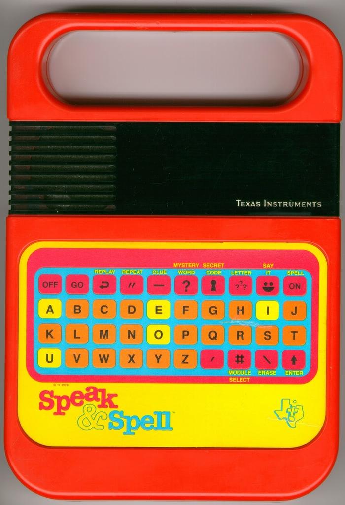 Speak & Spell logo 1
