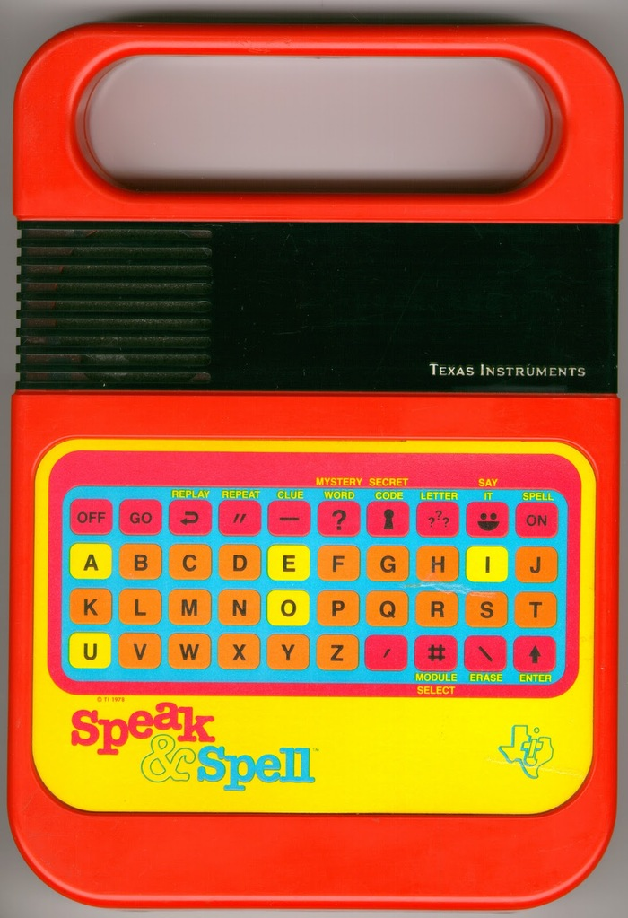 Speak & Spell logo 1