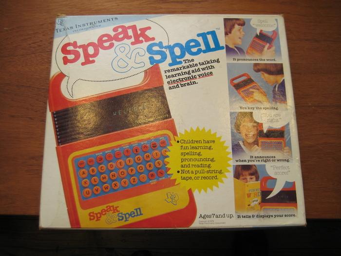 Speak & Spell logo 2