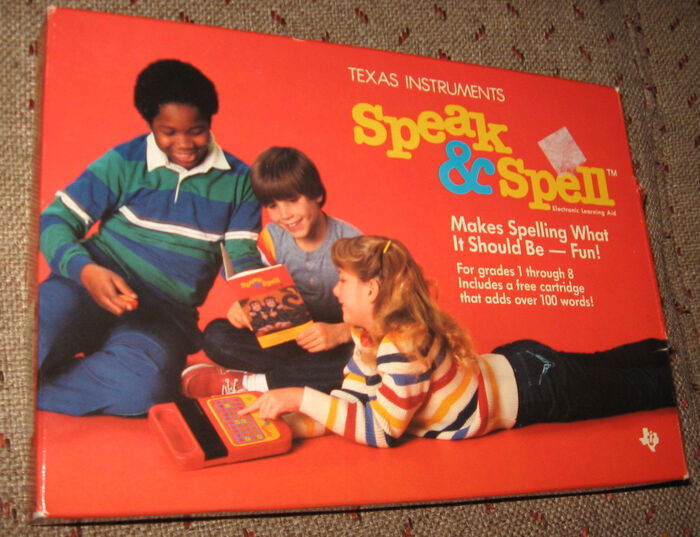 Speak & Spell logo 3