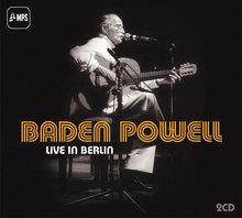 Baden Powell – <cite>Live in Berlin </cite>album art