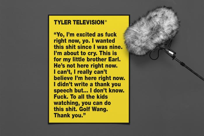 Tyler, the Creator performs at MTV's VMAs 2