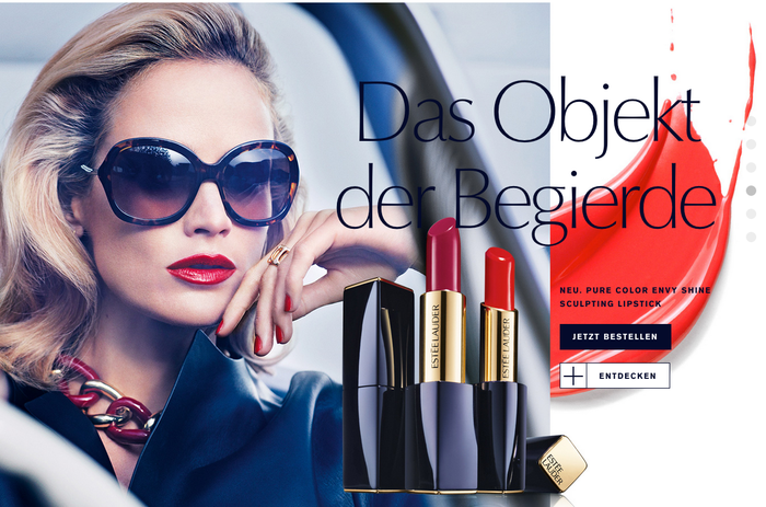 Estée Lauder websites 3