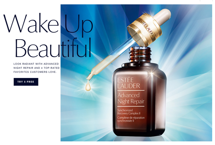 Estée Lauder websites 5