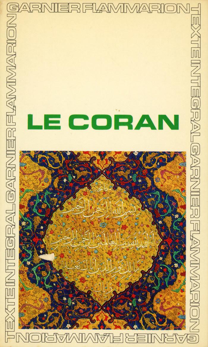 Garnier-Flammarion 237: Le Coran