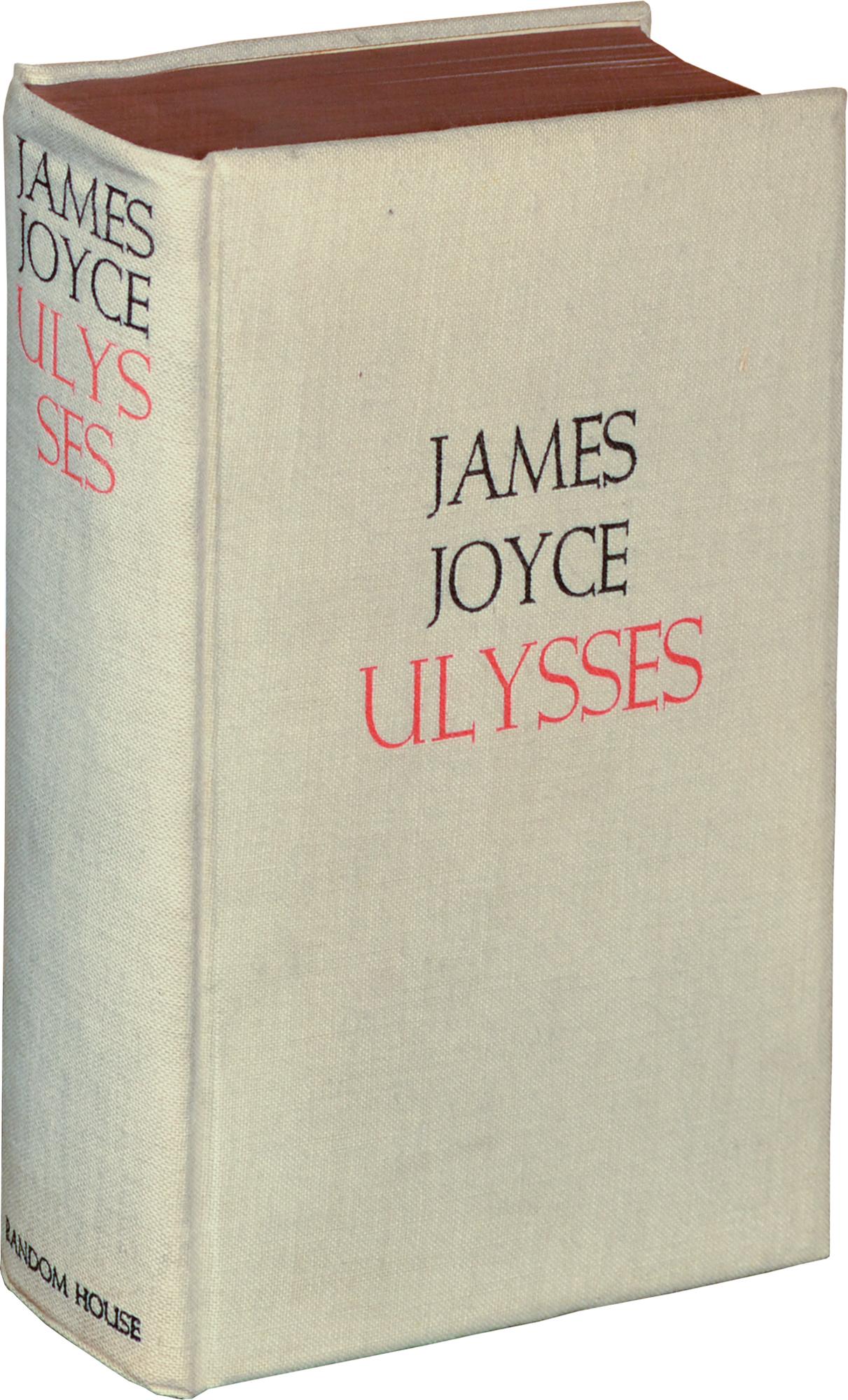 Ulysses By James Joyce Random House 1934 Fonts In Use