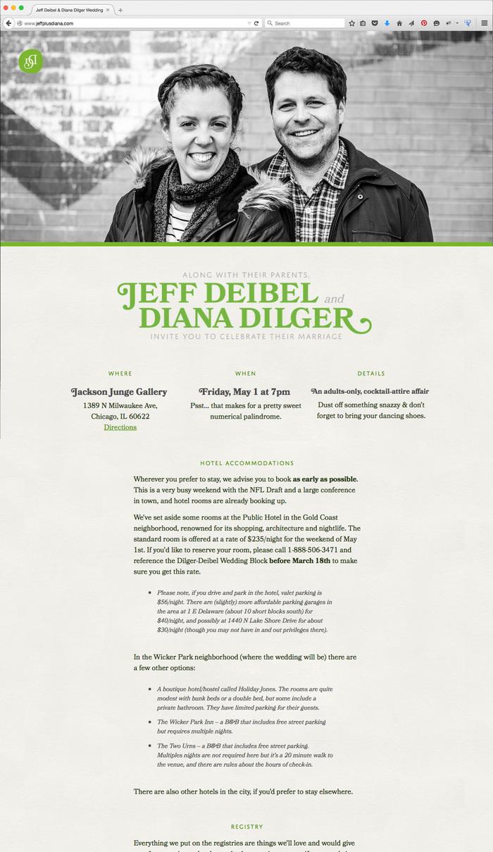http://www.jeffplusdiana.com