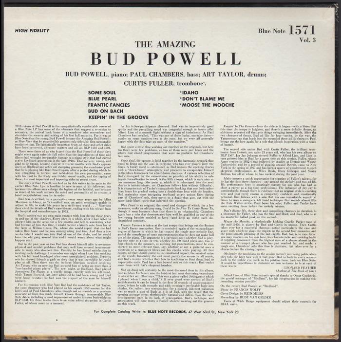 Bud! –The Amazing Bud Powell, Vol. 3 2