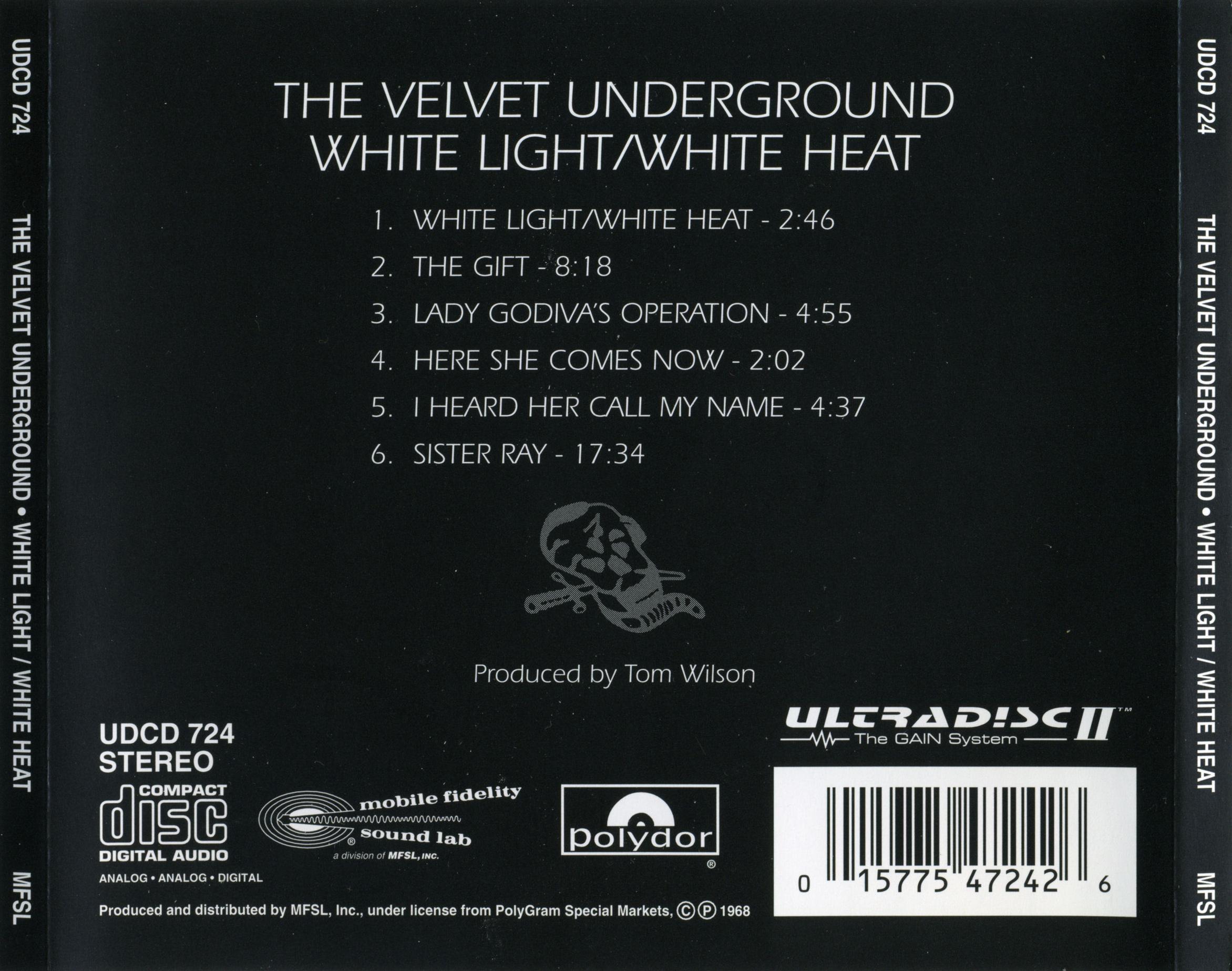 White Light White Heat By The Velvet Underground Fonts