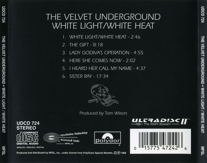 Back cover for the cd release.