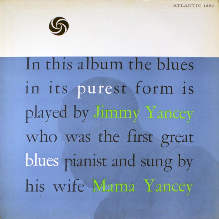 Jimmy & Mama Yancey – Pure Blues album art