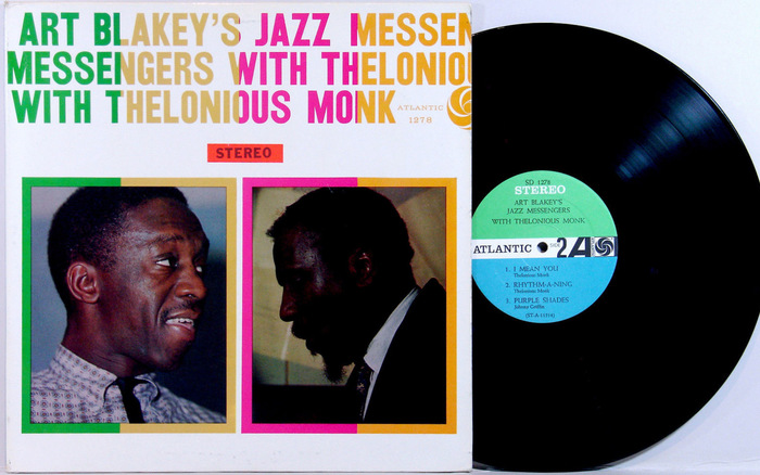 Art Blakey's Jazz Messengers With Thelonious Monk album art 2