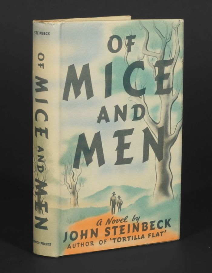 Of Mice And Men by John Steinbeck, first edition 1