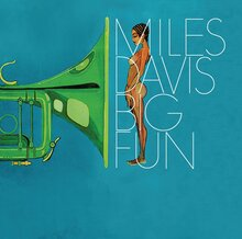 Miles Davis – <cite>Big Fun </cite>album art