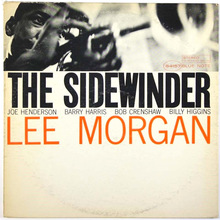 Lee Morgan – <cite>The Sidewinder</cite> album art