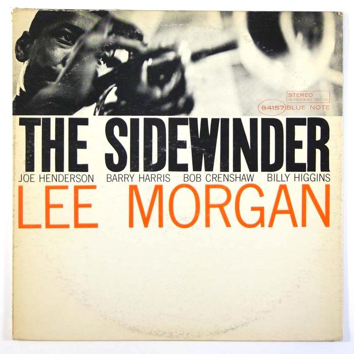 Lee Morgan – The Sidewinder album art