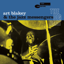Art Blakey and the Jazz Messengers – <cite>The Big Beat </cite>album art