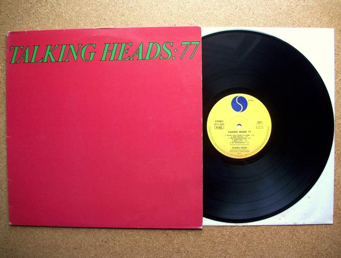 77 and Psycho Killer/Pulled EP by Talking Heads 1