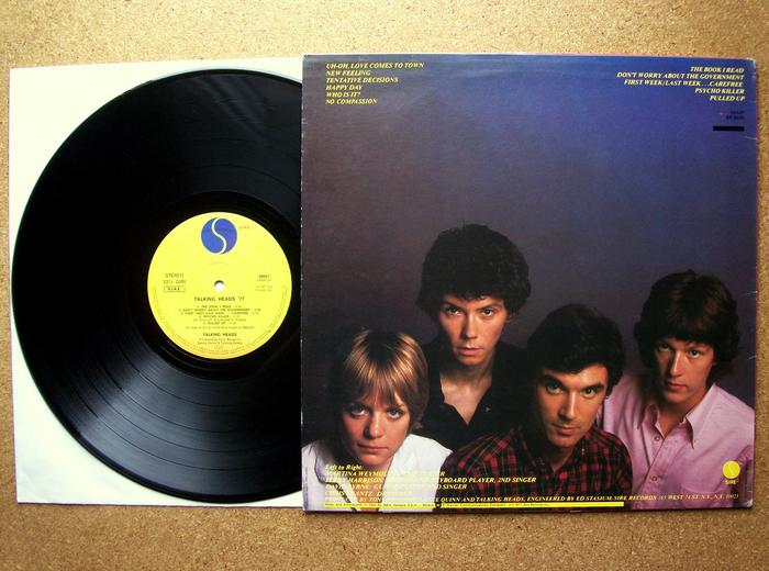 77 and Psycho Killer/Pulled EP by Talking Heads 2