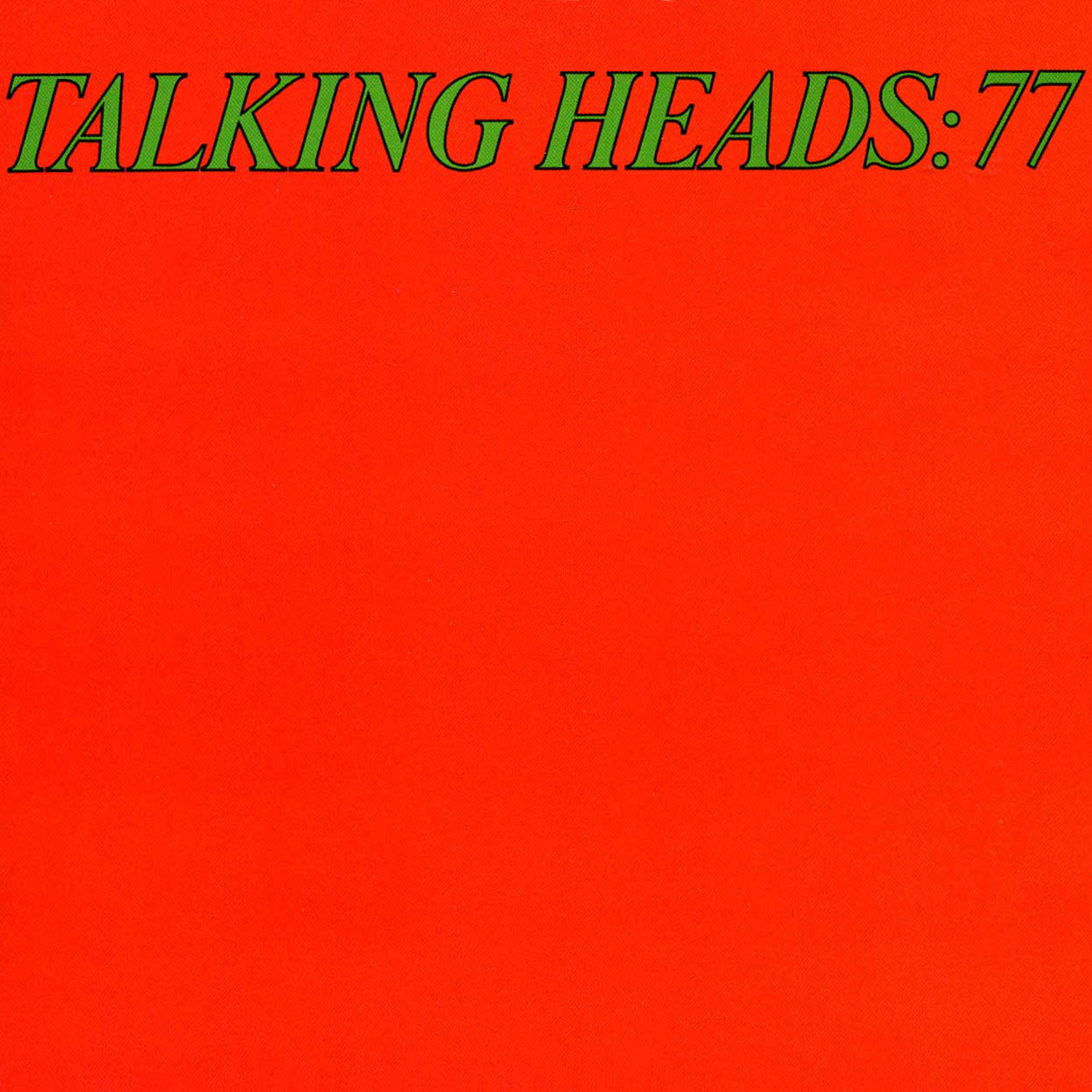 77 and Psycho Killer/Pulled EP by Talking Heads - Fonts In Use