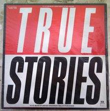 Talking Heads – <cite>True Stories </cite>album art