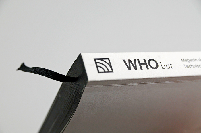 WHO but. Magazin der Fakultät Design an der TH Nürnberg Georg Simon Ohm 2