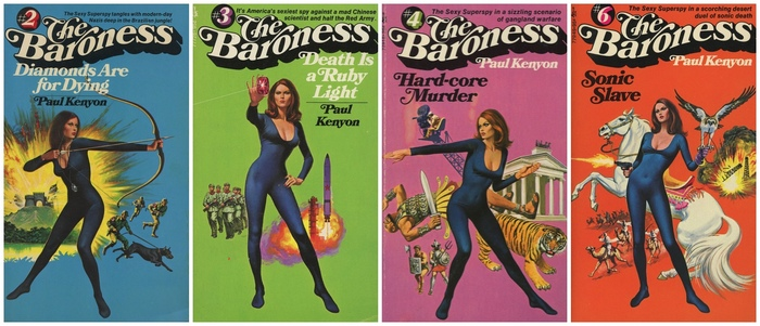 The Baroness series by Paul Kenyon 3