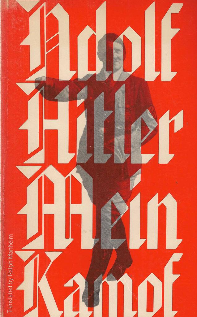 Mein Kampf by Adolf Hitler, Houghton Mifflin Sentry Edition