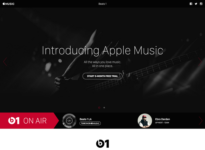 Apple Music Tumblr site 3