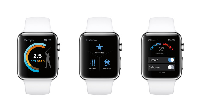 Press images for watchOS 2.