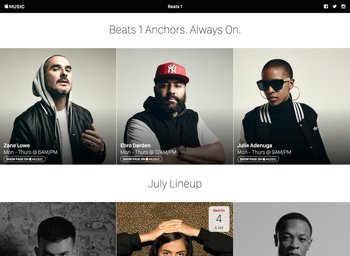 Apple Music Tumblr site 4