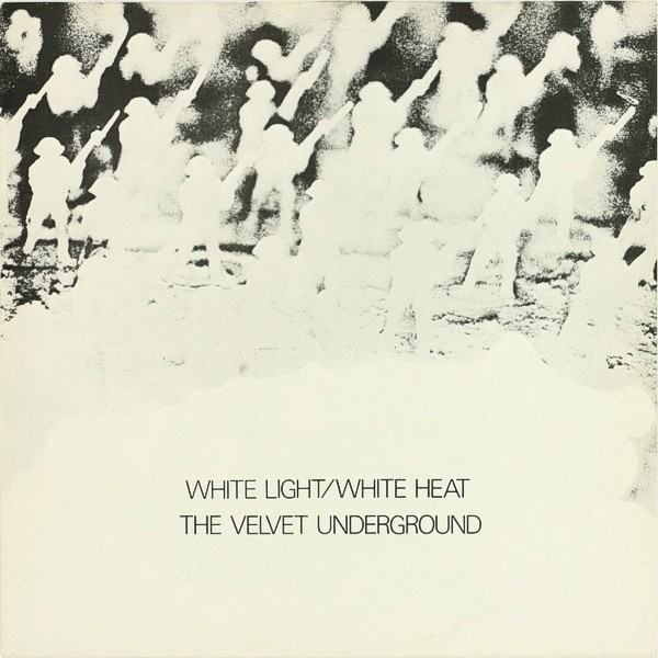 Cover art for White Light/White Heat alternate UK cover, 1976.
