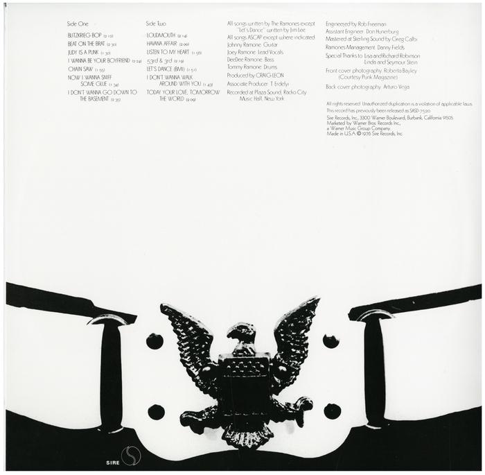 Ramones – Ramones album art 2