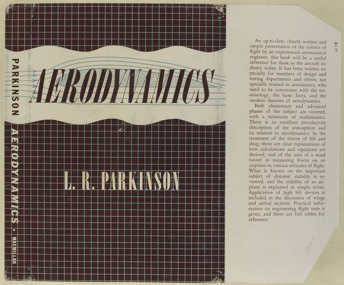 Aerodynamics by L. R. Parkinson