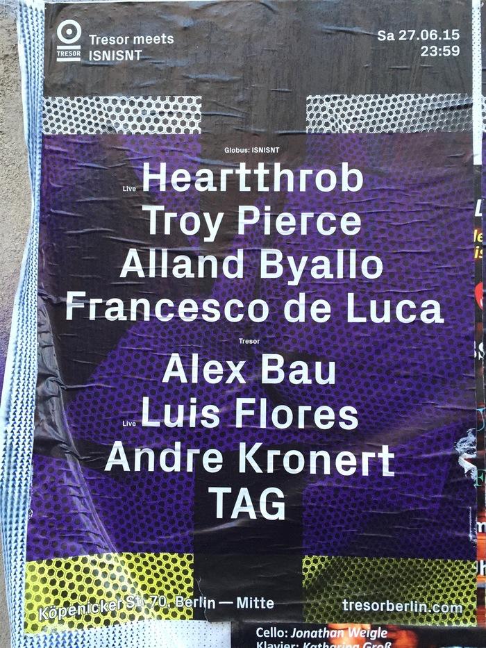 Tresor posters (2015) 1