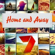 <cite>Home and Away</cite> logo (1988–)