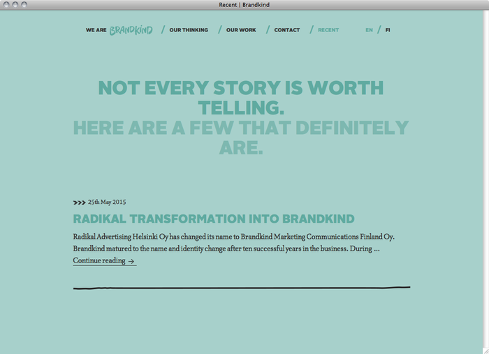 Brandkind website 3